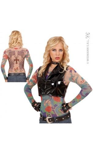 T-Shirt Tatouage Ailes d'ange