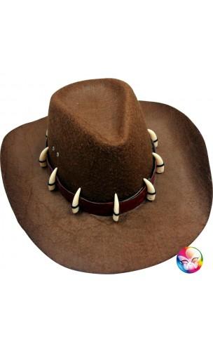 Chapeau Dundee avec dents croco