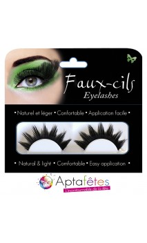 Faux Cils Girly Noirs