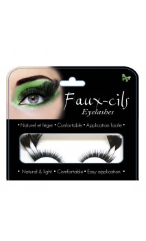 Faux cils plumes luxe