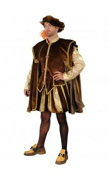 Costume roi François 1er luxe