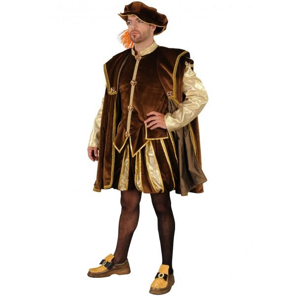 Location costume roi François 1er luxe