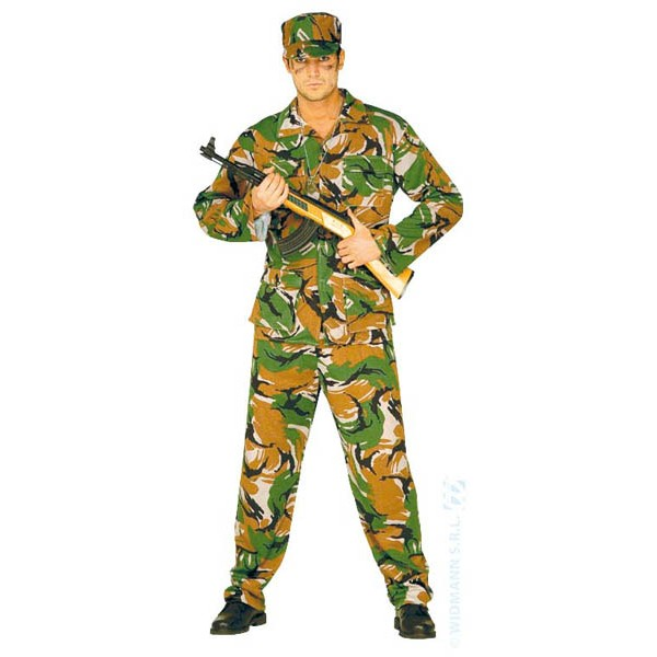 Costume Militaire Homme