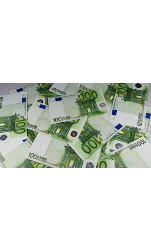 10 Faux Billets 100 euros