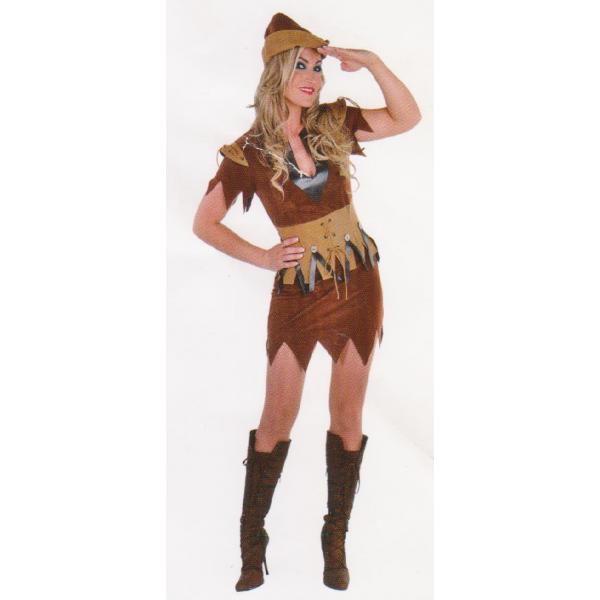 Déguisement Robin des bois - Femme
