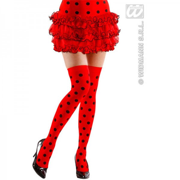 Collant Rouge Coccinelle