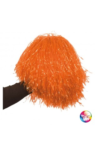 Pom Pom Luxe Orange