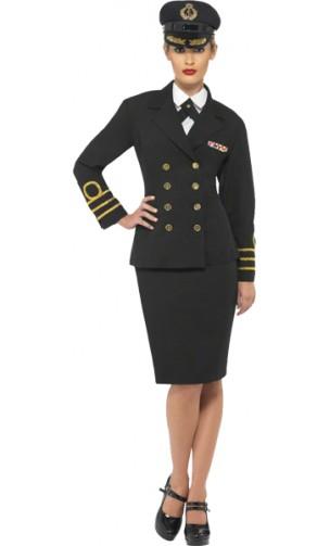 Déguisement Officier Marine Femme