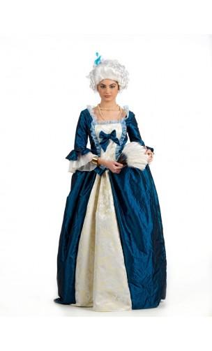 Robe Marie Antoinette Bleu