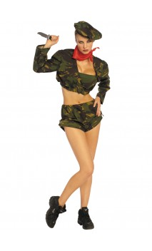 Treillis Militaire Sexy