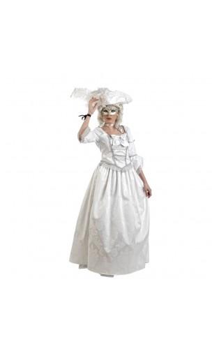 Robe Marie Antoinette Blanche
