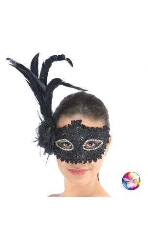Masque Baroque Black Swan