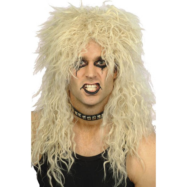 Perruque Hardrockeur blond