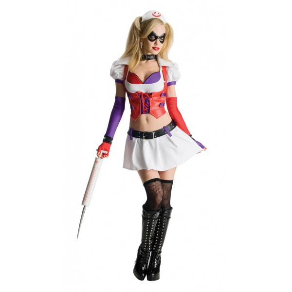 Déguisement Harley Quinn Infirmière
