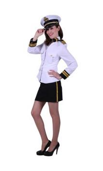 Déguisement Capitaine Marin Femme