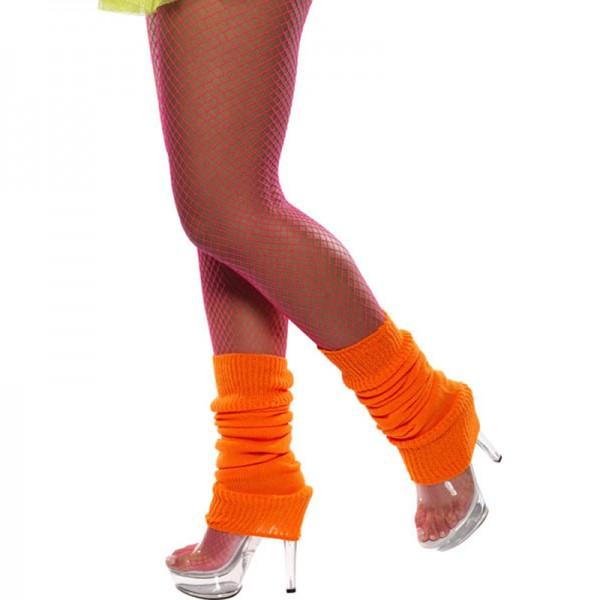 Guêtre Année 80 Orange Fluo