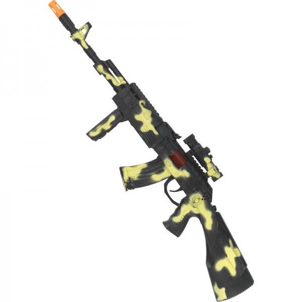 Mitraillette militaire camouflage
