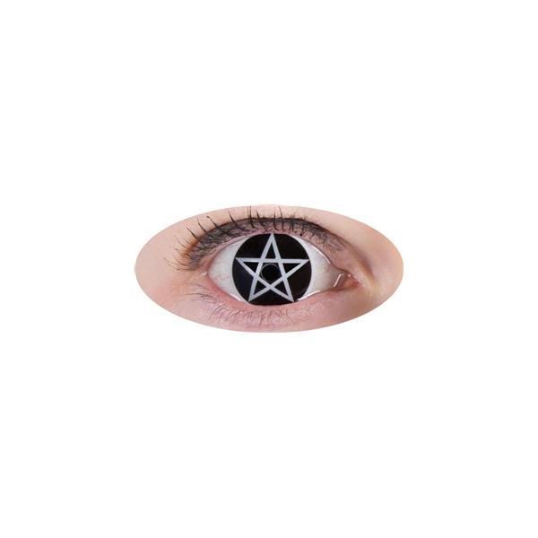 Lentilles Croix Satanique