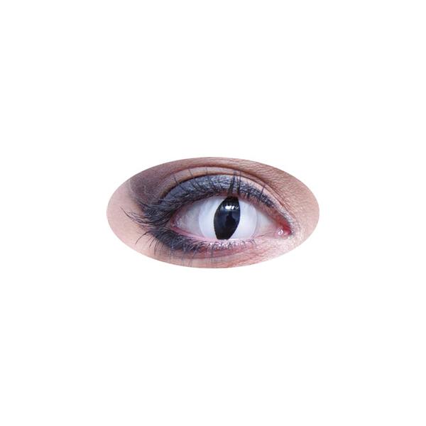 Lentilles oeil de chat blanc