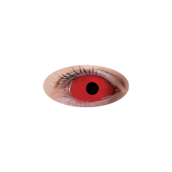 Lentilles Sclera Rouge