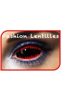 Lentilles Sclera Dents Requin 2