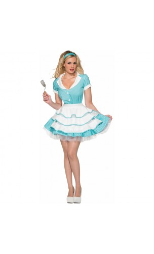 Costume Housewife Sexy 50's