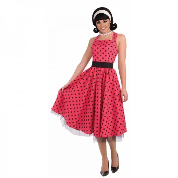 Costume Framboise Année 50