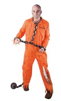 Costume prisonnier Guantanamo Zombie