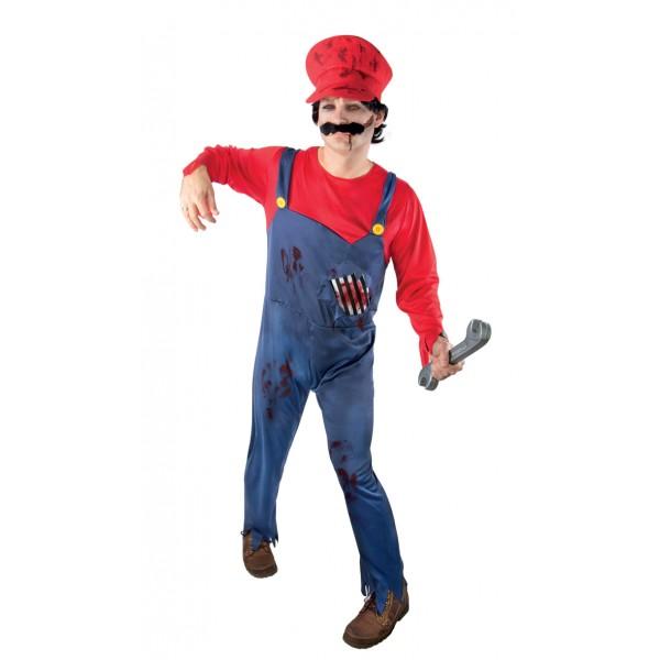Costume Super Mario Zombie