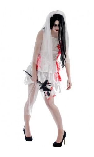 Costume mariée ensanglanté