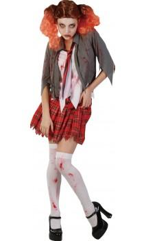 Costume étudiante zombie