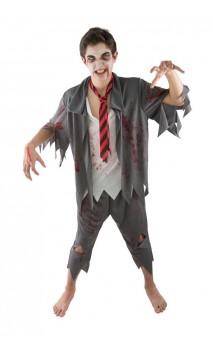 Costume étudiant ado zombie
