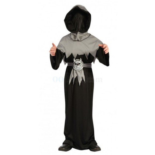 Costume maitre de la mort enfant