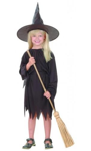 Costume sorcière noir enfant