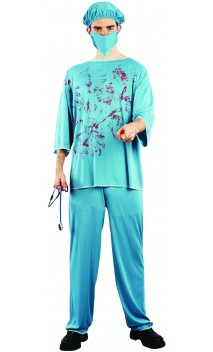 Costume chirurgien sanglant