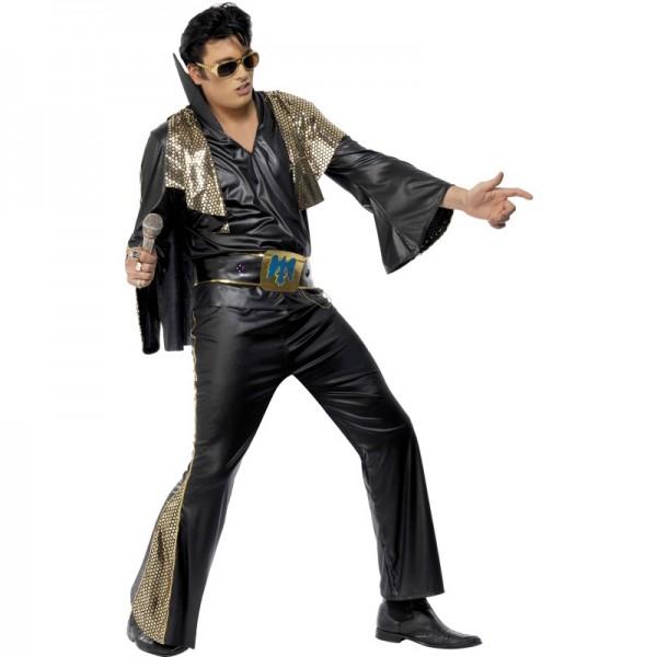 Déguisement Elvis noir