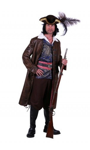 Costume pirate Jack collector