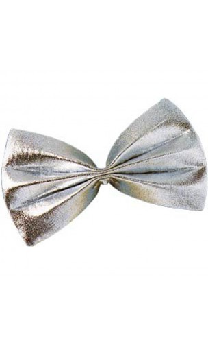 Noeud Papillon argenté