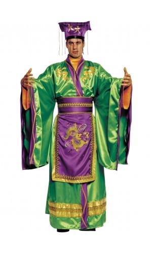Déguisement empereur chinois