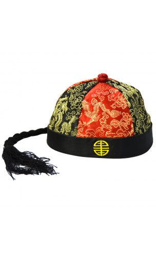 Chapeau mandarin tissus