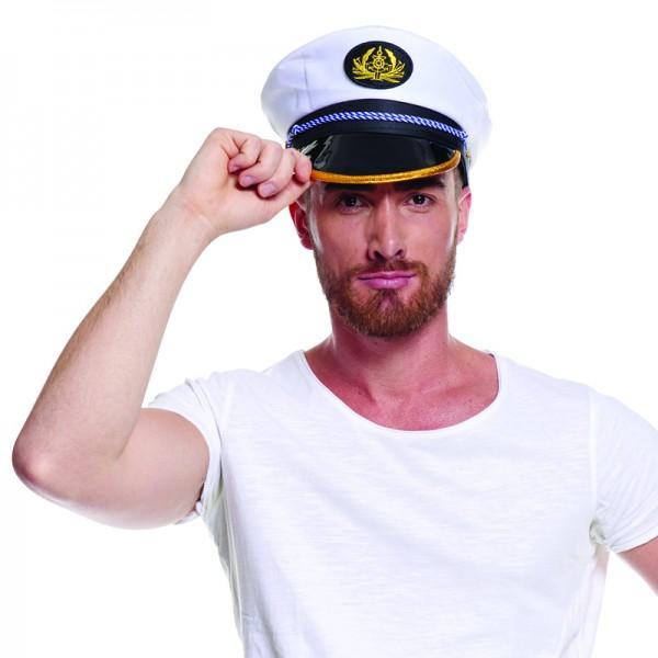 Casquette capitaine marin 2