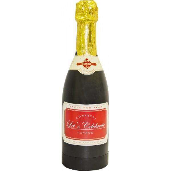 Canon confettis champagne 1