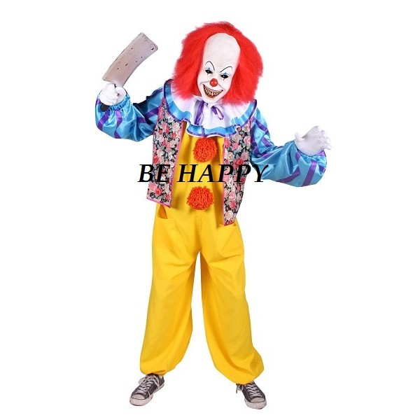 location costume de a le clown tueur pour adulte paris be happy. Black Bedroom Furniture Sets. Home Design Ideas