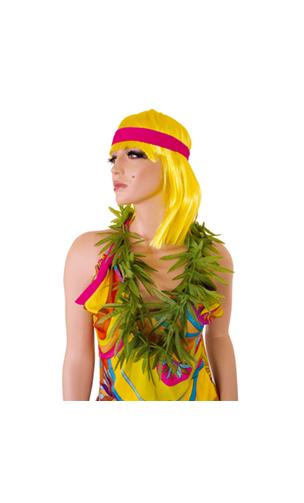 Collier rasta feuilles cannabis