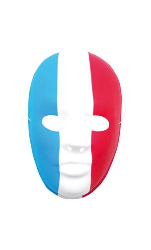 Masque tricolore supporter