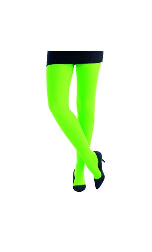 Collant vert fluo