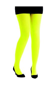 Collant jaune fluo