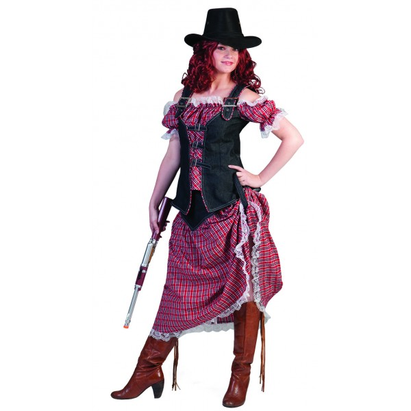 Déguisement cowgirl saloon