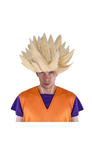 Perruque Son Goku