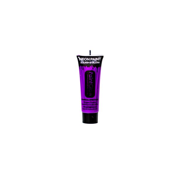 Maquillage fluo fard UV violet